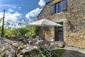 Terrasse cottage (for 4)